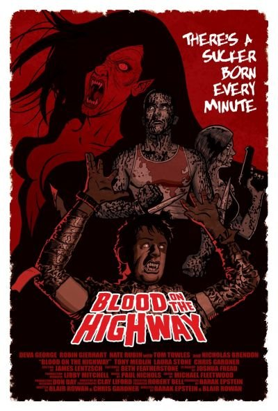 《高速公路上的血案》(Blood on the Highway)[DVDRip]