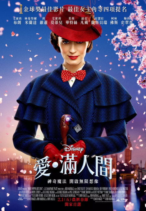 [欢乐满人间2][Mary][Poppins][Returns][2018][BD1080P][X264][AAC][English][CHS-ENG]